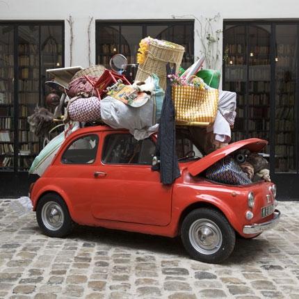 small load-car
