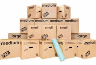removal boxes packing materials