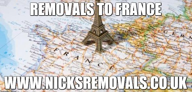 removals part loads to France